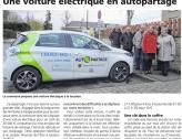 Réunion d'information véhicules électriques en auto partage.